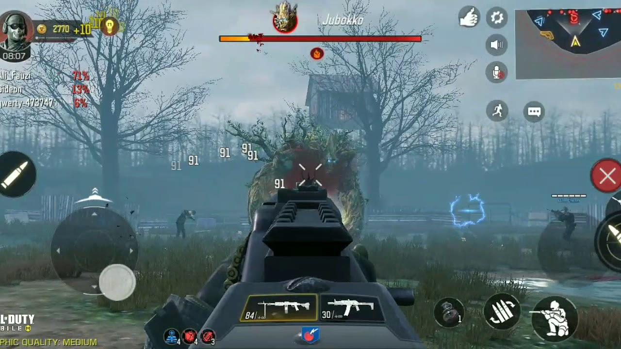 Дзюбокко в Call of Duty Mobile