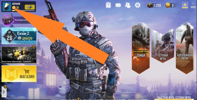 Изменение аватара в Call of Duty Mobile