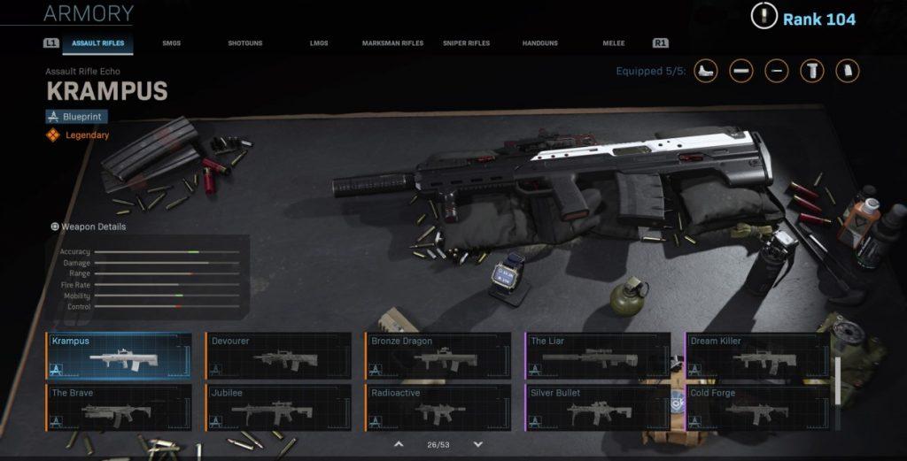 Лучшее оружие в Call of Duty Warzone