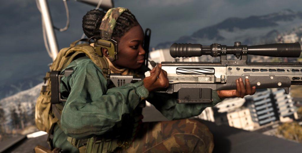 Снайперская винтовка в CoDW