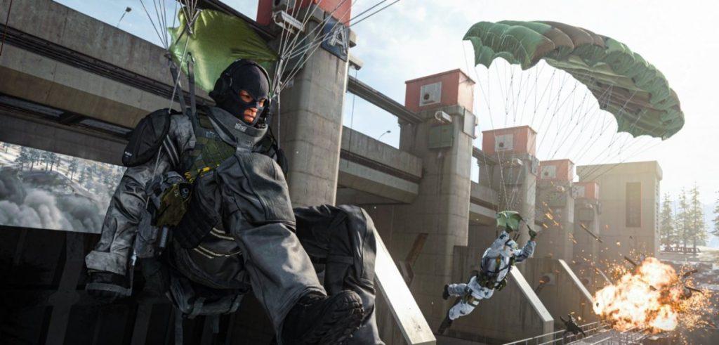 Вылеты в обучении Call of Duty Warzone
